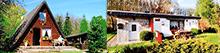 Ostsee Ferienhaus am Wald und ein uriges Tinyhouse